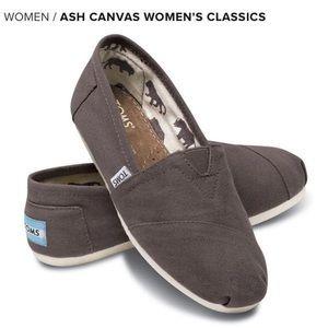 TOMS Ash Canvas Women's Classics